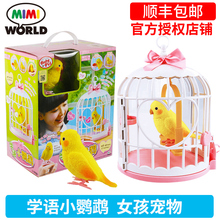 Little Parrot Talking Bird Girl Electronic Pet Feeding Toys