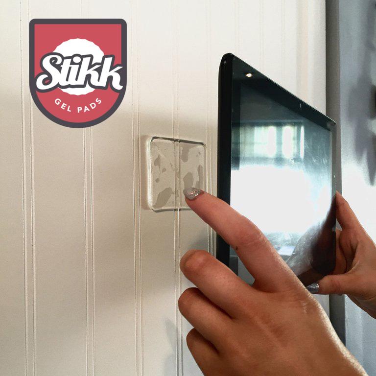 Stikk gel pad 强力凝胶片 墙贴随处随心粘 fixate 挂钩