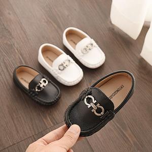 2021春季新款男童鞋韩版软底潮皮鞋