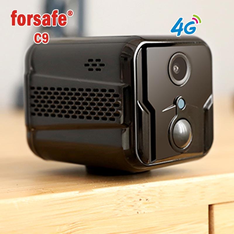 无线4g全网通监控器摄像头夜视网络摄像机录像移动侦测连手机