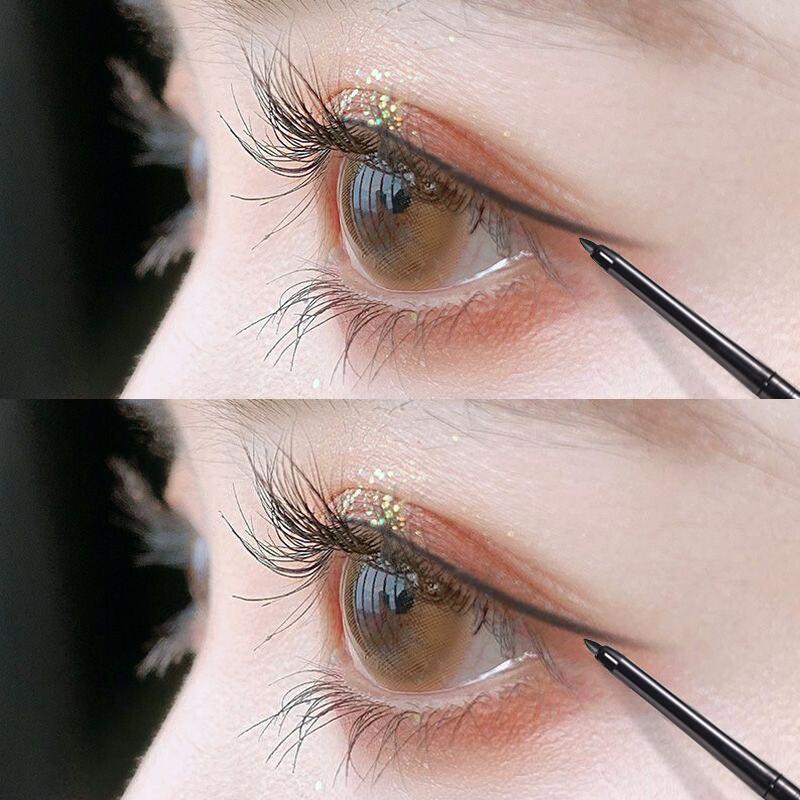 稚优泉眼线胶笔防水不晕染铅笔式硬头内眼线笔膏极细棕色李佳琦图片