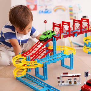 儿童电动轨道车1-2-3周岁儿童玩具男孩宝宝幼儿小汽车早教益智滑