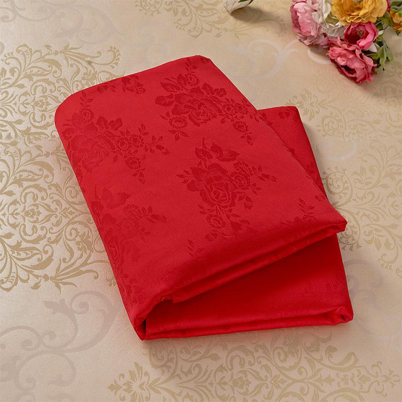 纯棉被芯内胆套大红色被套单件全棉高密棉胎棉絮垫被套褥子套被罩