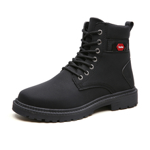 Waterproof and skid-proof sole of Martin boots and men's high boots in autumn and winter