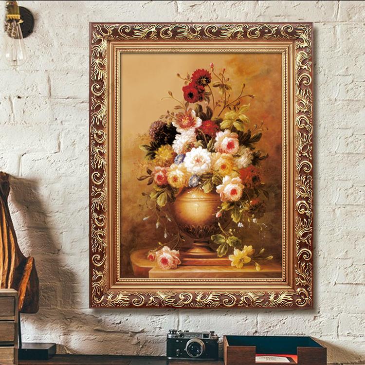 Континентальный обрамленный классическая живопись декоративный живопись гостиная живопись магазин вход картины домой настенный живопись печать моделирование живопись