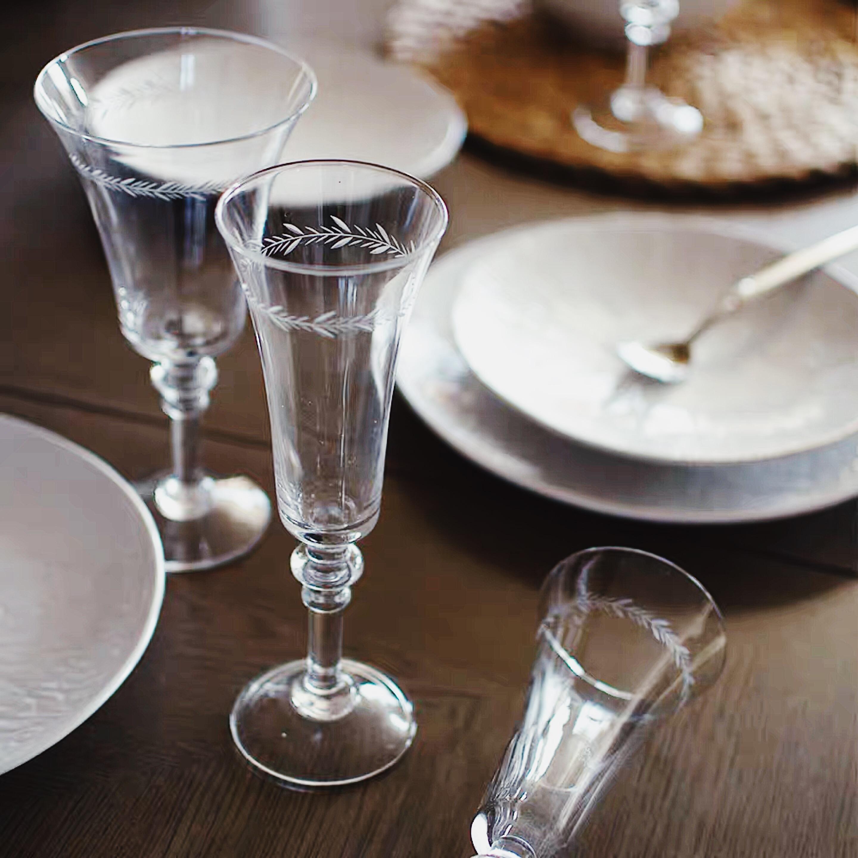 【推荐!】古典英剧里走出来的美丽杯子 玻璃高脚杯 香槟杯红酒杯(用1元券)