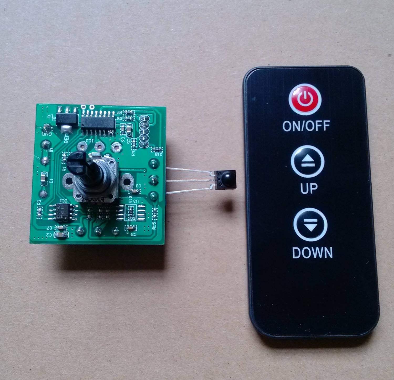 可变10k功能遥控数字电位器50k遥控电阻可定制其他