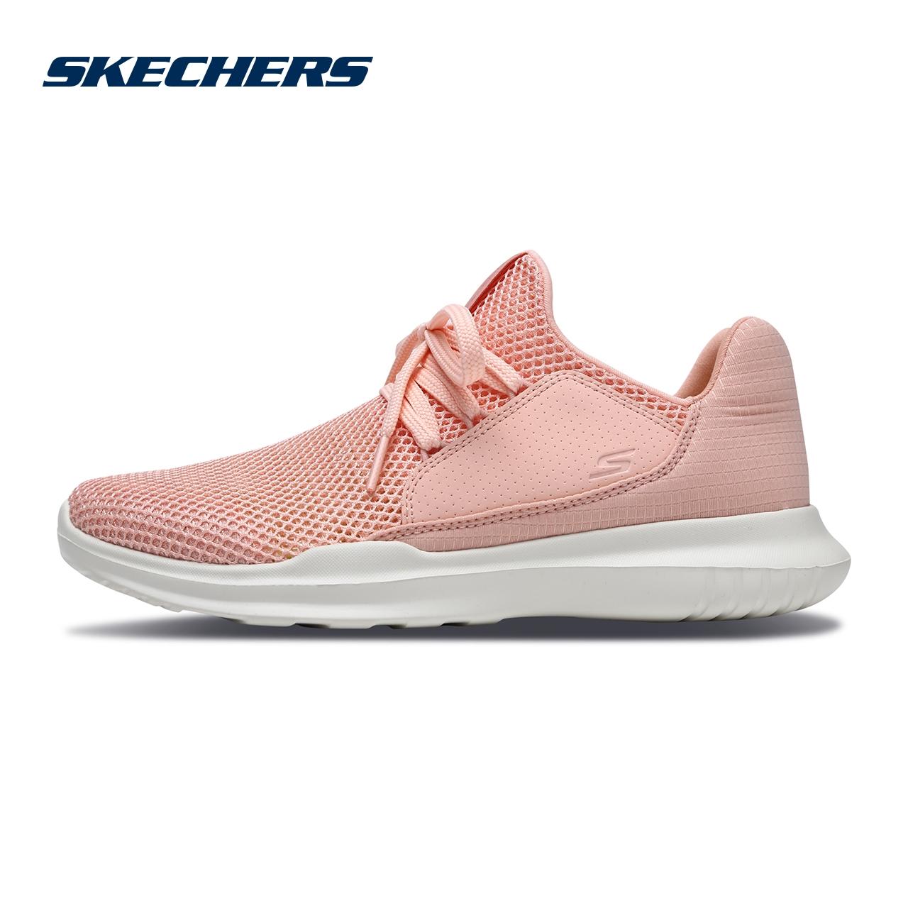 Skechers斯凯奇女鞋新款唐嫣同款轻质网布一脚套 时尚运动鞋14818