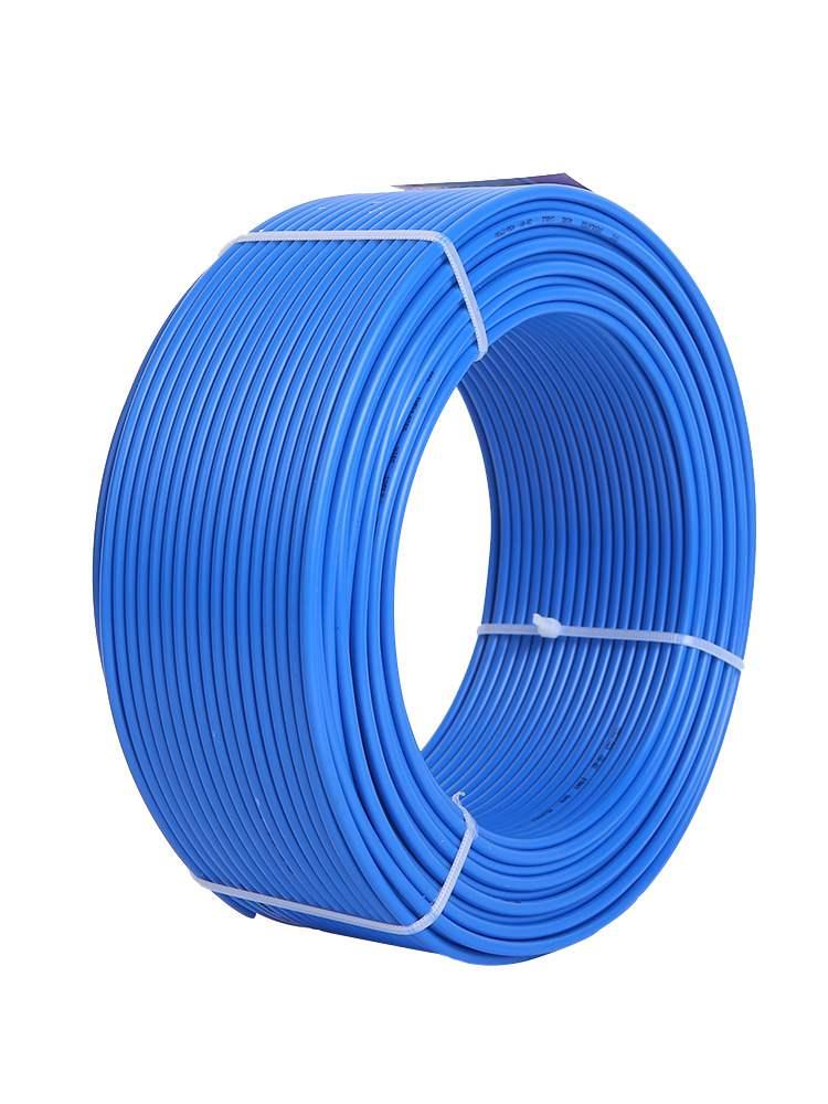 2.5平方家用电线国标4铜芯电线家装1.5610单芯单股bv硬纯铜线缆