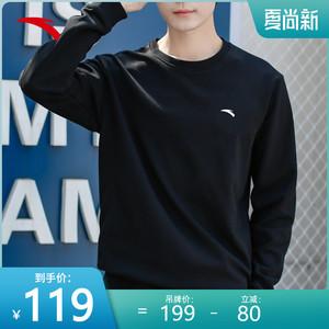 安踏男2021新款官网旗舰春季卫衣
