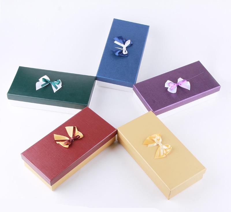 小号纸盒 丝巾礼物包装盒 长款钱包盒子丝巾盒 巧克力小盒子