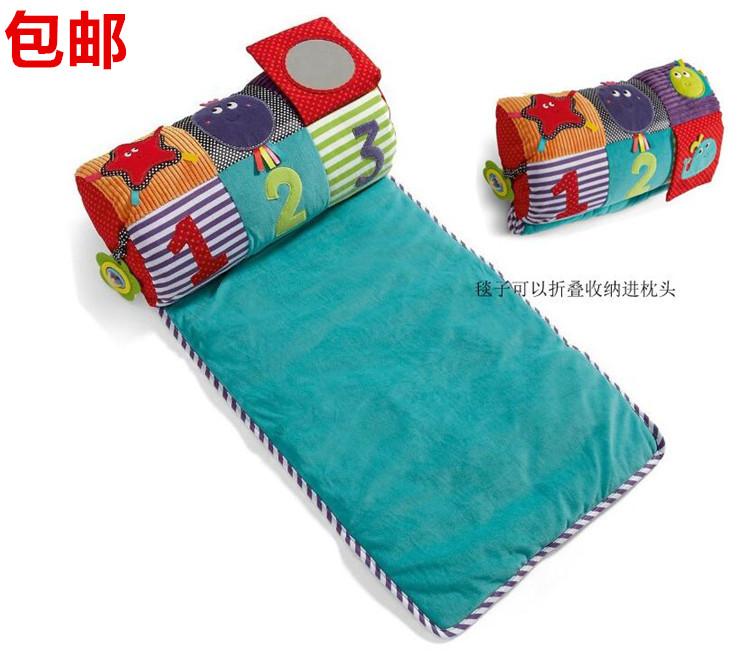 Выход великобритания ползучий ролик игра одеяло ребенок папа подушка новорожденных ребенок головоломка игрушка 0-1 лет