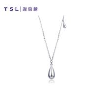 送妈妈婆婆礼物正品女强光白色淡水珍珠项链10mm9浓情黛米珍珠