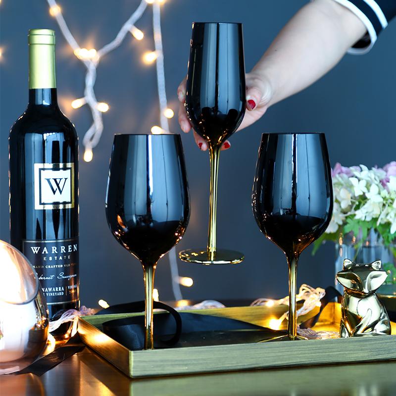 10月18日最新优惠创意电镀金色玻璃居家装饰玻璃杯子