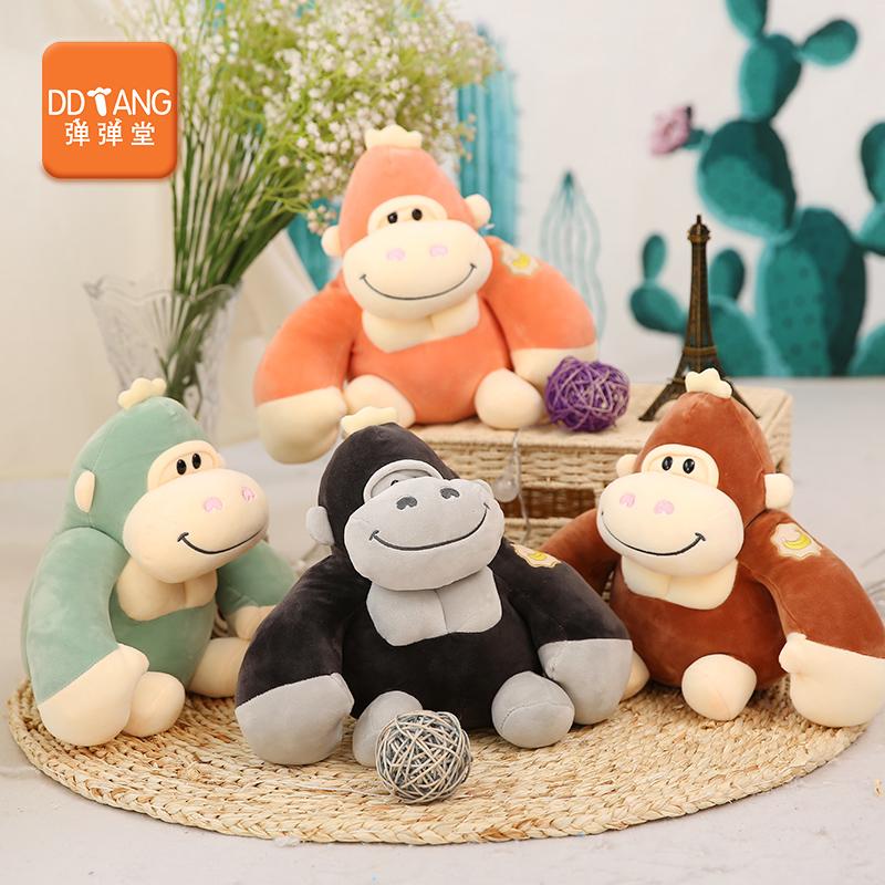 大猩猩毛�q玩具超大�金��仿真公仔大嘴猴抱枕猴子猩猩玩偶公仔