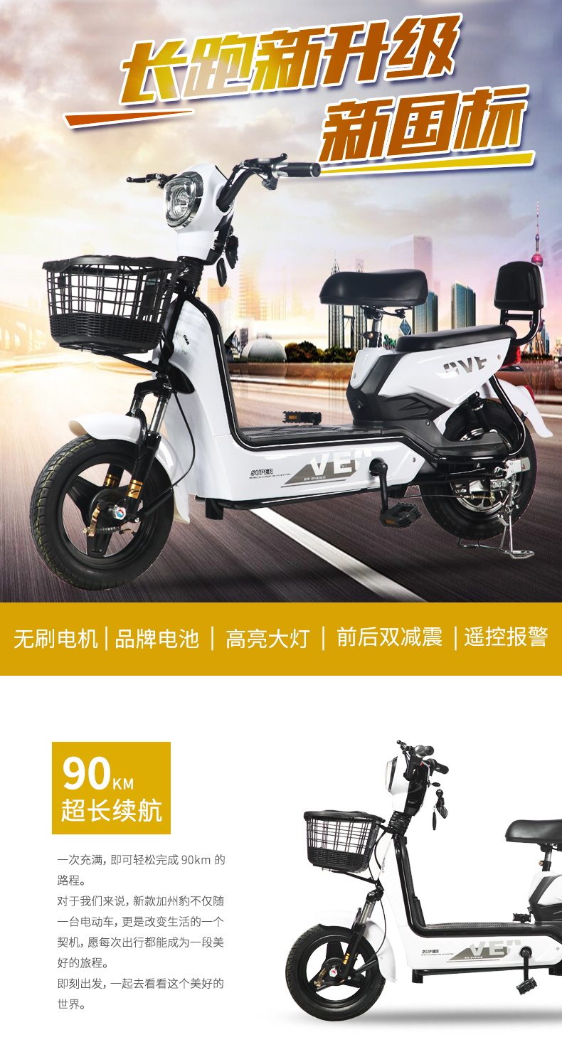 Taiyuan long distance running king 48v20a vacuum tire pedadi electric bicycle 13546318656
