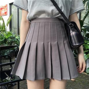 大码胖mm2020新款黑色a字半身裙