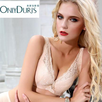 奥丽多丽9302大胸显小全罩杯文胸薄款胖mm大码胸罩聚拢收副乳内衣