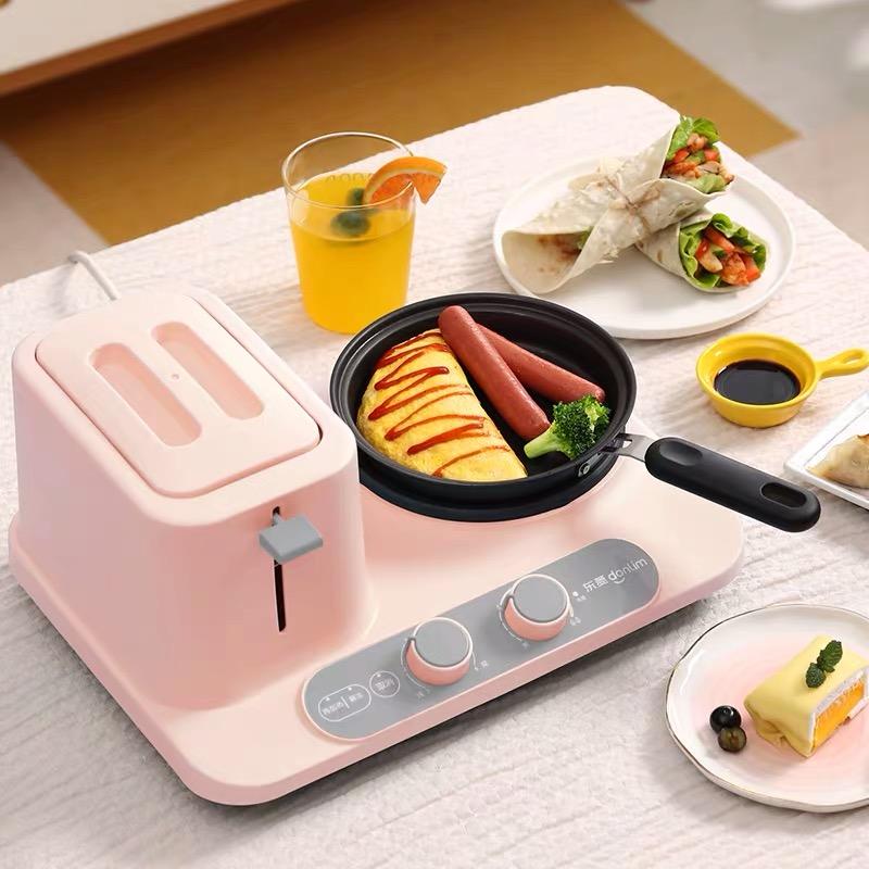 Donlim东菱早餐机家用多功能全自动三合一懒人烤面包机吐司多士炉