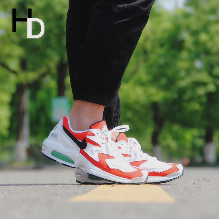 厚道体育Nike Air Max 2 Light耐克复古老爹男子气垫运动鞋AO1741