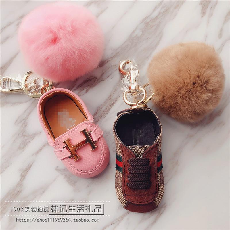 ファッション的な小さい靴の鍵はペンダントのカップルのミニ自動車の鍵を掛けます。
