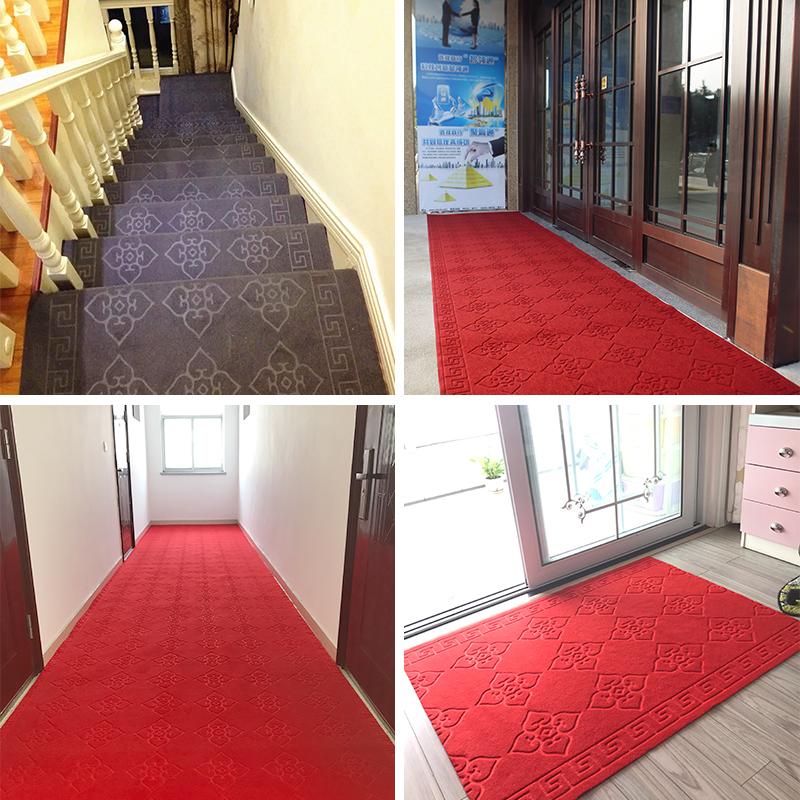 可裁剪门厅门口绒面过道走廊红地毯
