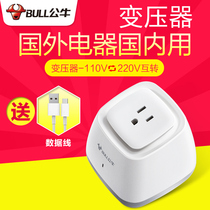 Bull Transformer USA Japan 110v turn 220V turn 110V electric toothbrush Dyson domestic voltage Converter