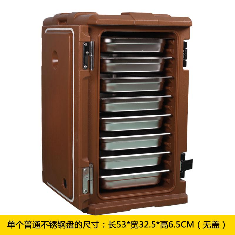 食品保温箱商用大容量超大份数盘盆分层保温箱饭菜外卖外送120L