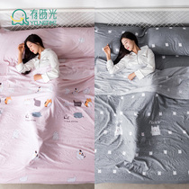 Travel Hotel dirty sleeping bag Travel Hotel hostel out anti-dirty quilt bed sheet doubles people super light