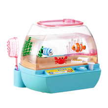Mimiworld South Korea has developed an electronic pet aquarium girl child toys 3-6 years old gift