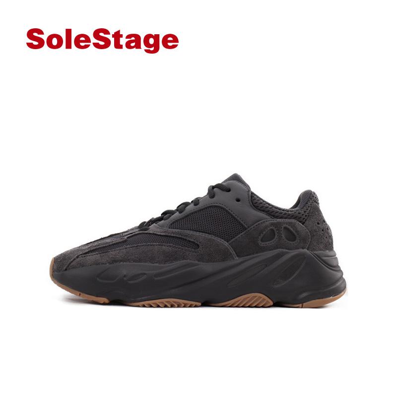 Adidas Yeezy Boost 700 黑武士 黑生胶老爹鞋 FV5304