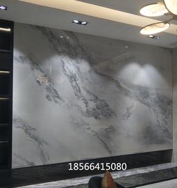 蒙娜丽莎瓷砖大板1200X2400巴山蜀水风景陶瓷薄板 背景墙砖图片