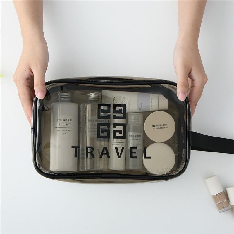 手慢无防水化妆包女旅行小便携ins风超火收纳包透明洗漱包大容量化妆袋