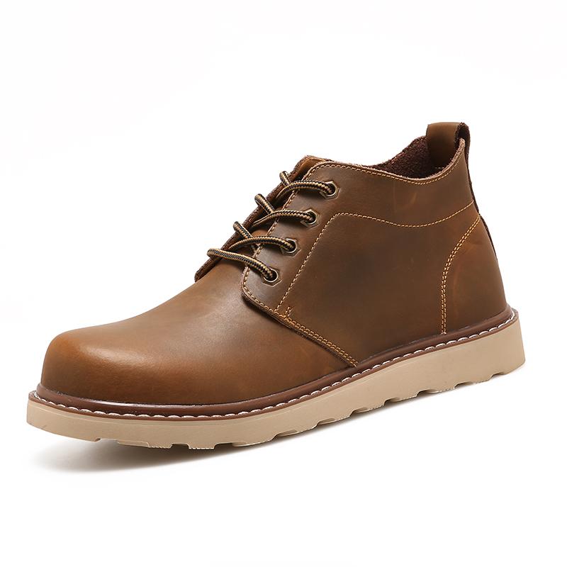 2016秋 男士馬丁靴男靴英倫風靴子男士短靴工裝靴軍靴鞋沙漠靴
