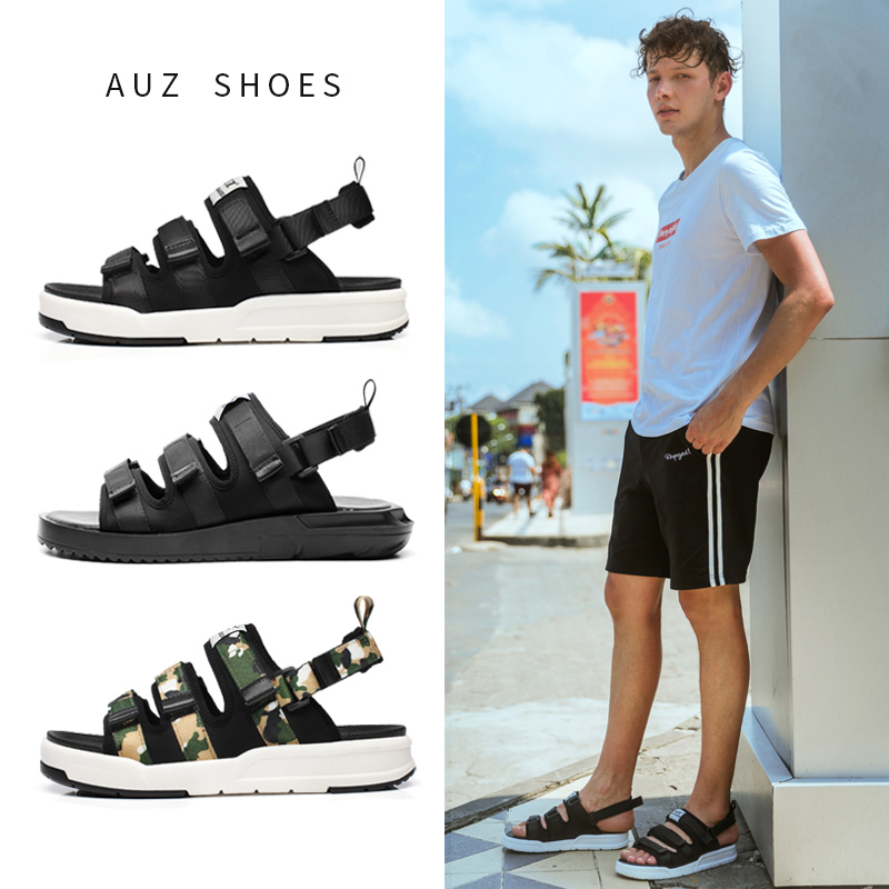 11月23日最新优惠男士2019新款夏季两用韩版沙滩鞋