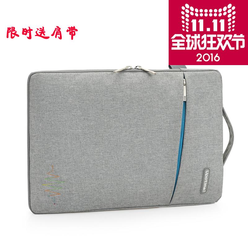 蘋果聯想筆記本單肩電腦包macbook 13 14寸15.6 air11手提內膽包