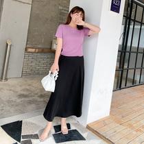 『造物节两件五折』慕翎大码女装洋气田园风上衣半身裙子夏装套装