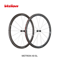 Vision Metron SL Cannondale Team version of the same carbon fiber Highway wheel Group Carbon Knife