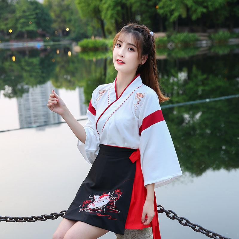 汉服女中国风古风仙气正品原创白菜价小个子薄款古装秋装夏季超仙