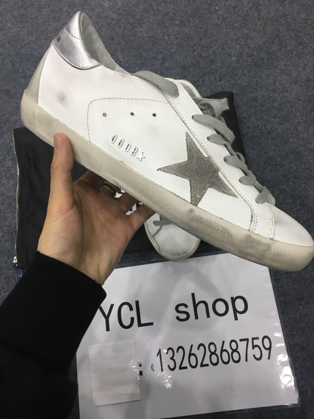 【YCL】Golden Goose GGDB 银尾低帮小脏鞋休闲鞋