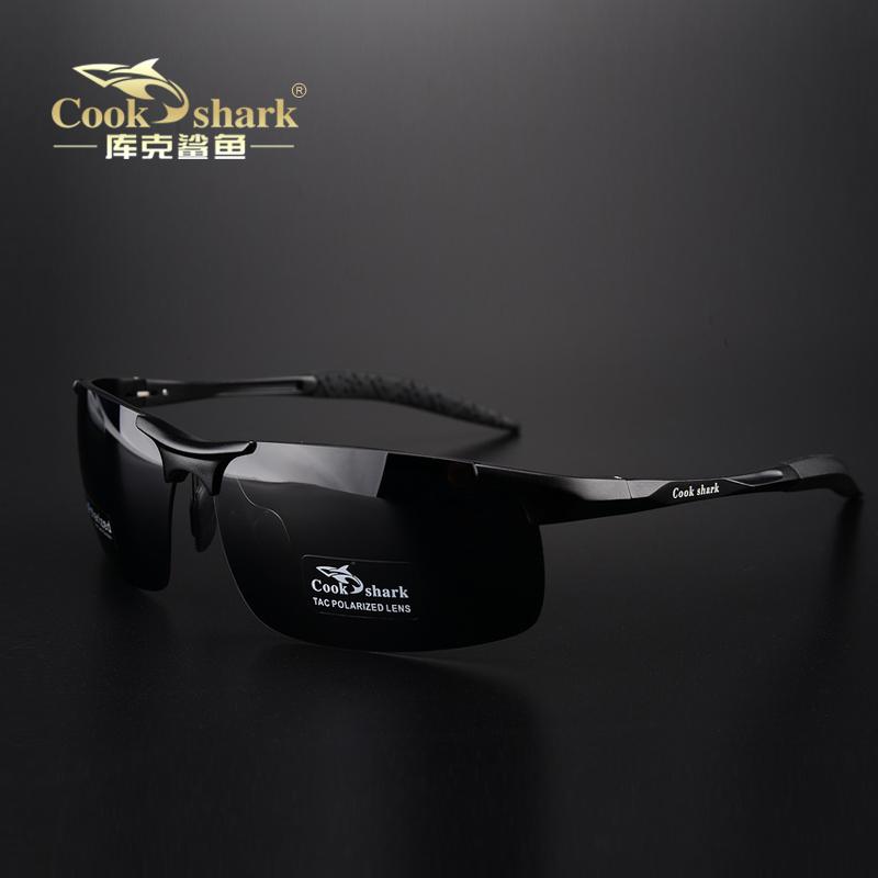 (用791元券)cookshark库克鲨鱼偏光男太阳镜