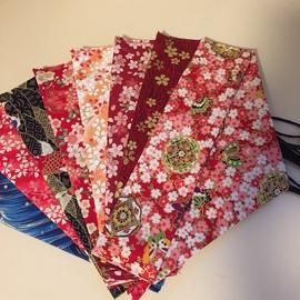 日式筷子袋布袋绕线勺子刀叉收纳袋子手工棉麻筷子袋便携餐具袋