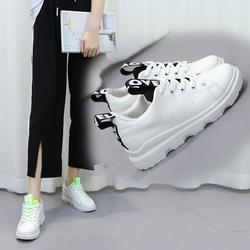 【今日特价网】街拍小白鞋女鞋子2017秋季新款韩版时尚百搭厚底休闲鞋学生运动鞋