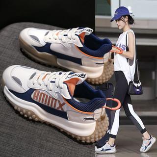 回力老爹鞋女2021年夏季新款透气网面软底鞋子女鞋百搭休闲运动鞋