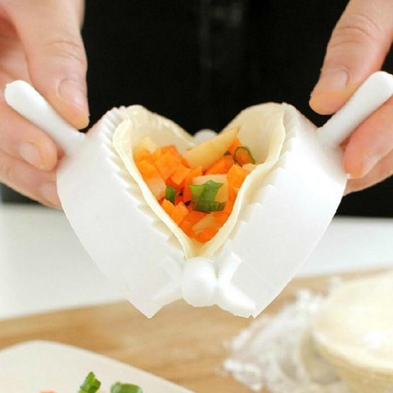 水饺模具包饺子器捏饺子机神器月牙形家用实用手动夹饺子花型工具