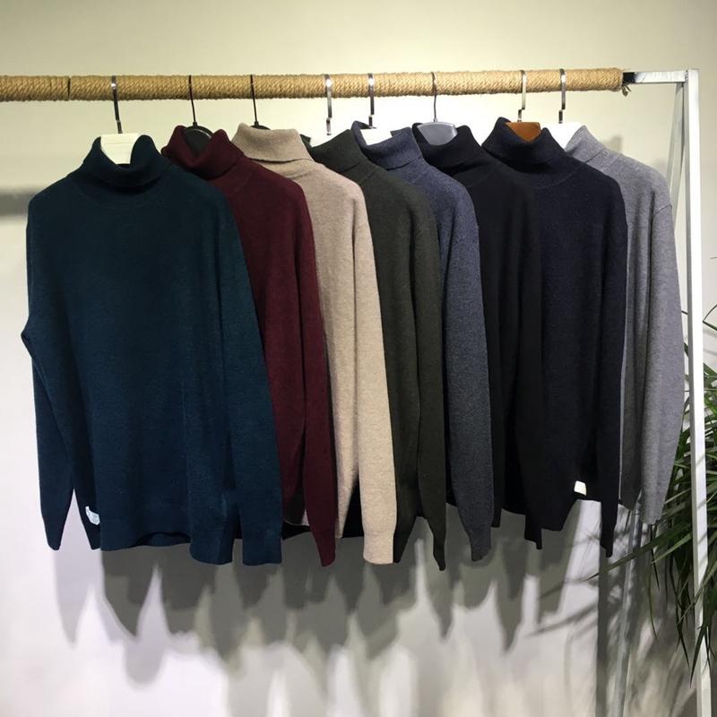 高领毛衣男MD81715-W