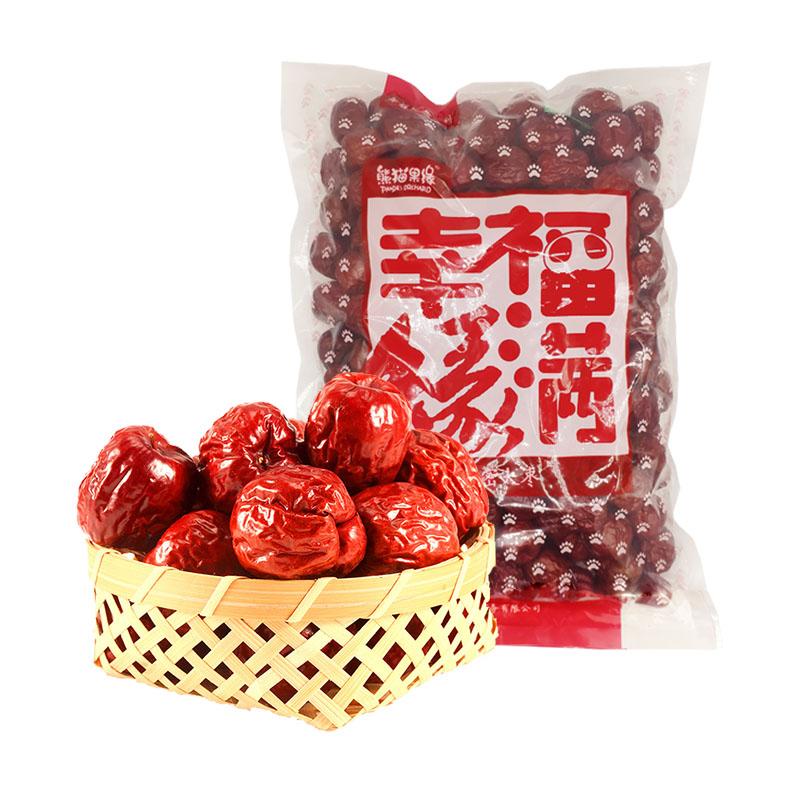 熊猫果缘 哈密大枣两斤装 新疆特产红枣