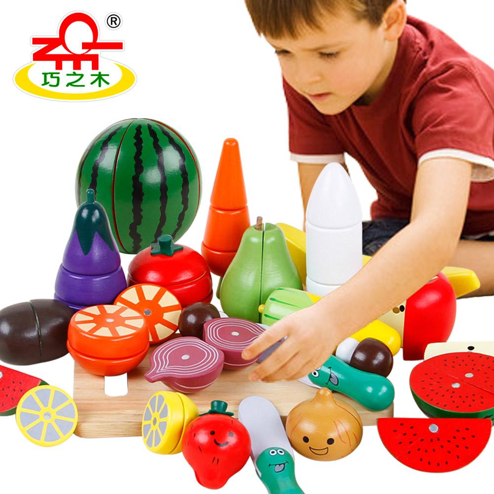切水果二儿童女童2-4-6岁女宝宝玩具1-3岁益智小女孩子两三周岁半
