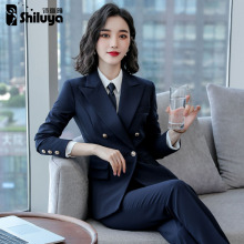 Formal women's suit fashion professional suit work suit temperament worker decoration interview women's pants suit