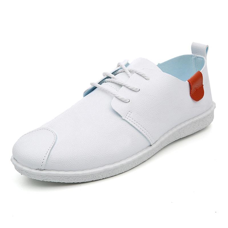 2017春 豆豆鞋男士 鞋 潮流百搭小白鞋小皮鞋男鞋子